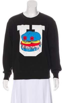 Undercover Burger Shop Knit Sweatshirt