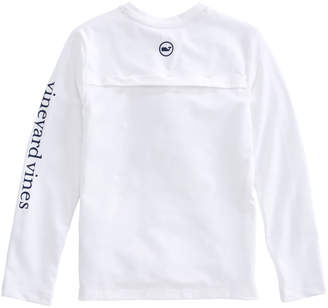 Vineyard Vines Boys Long-Sleeve Performance Vented Boating T-Shirt