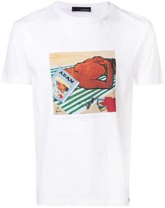 Lardini printed T-shirt