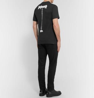 Vetements staff printed cotton jersey t shirt shopstyle men for Vetements basic staff t shirt