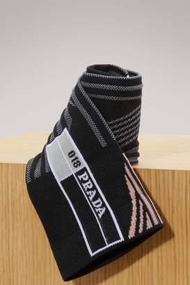 Prada Nylon-tech socks