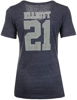 Nike Women's Ezekiel Elliot Dallas Cowboys Player Tri-Blend T-Shirt