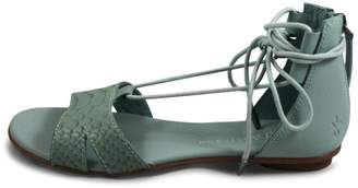 Emu Australia Lace Green Sandal $120 thestylecure.com
