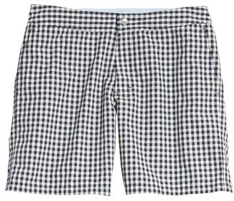 Bonobos Gingham 7-Inch Swim Trunks