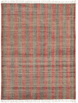 OKA Clavo Rug - Red Madder/Blue