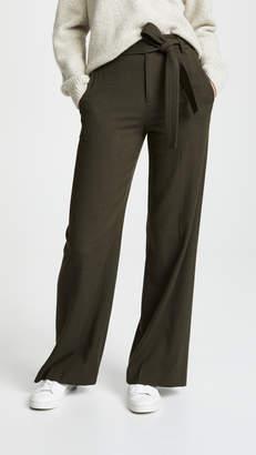 Vince Belted Wide Leg Pants