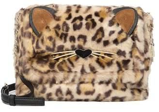 Kate Spade run wild faux fur shoulder bag\u002Fmuff