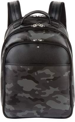 Montblanc Leather Camo Backpack