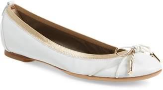 AGL Gold Bow Ballet Flat