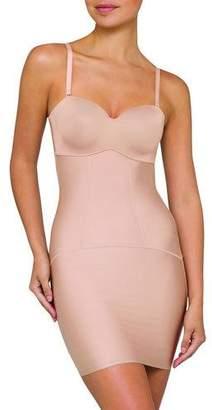 Nancy Ganz Body Architect Slip Dress Shapewear with Built-In Bra