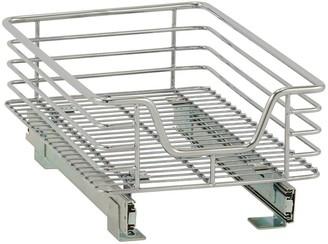 Household Essentials Design Trend Standard Depth 1-Tier 11.5-inch Wide Sliding Under Cabinet Organizer