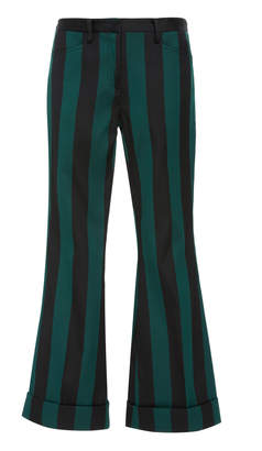 N°21 N 21 Stripe Cropped Pant