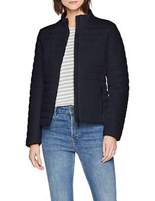 Geox Women's W Ascythia Jacket Blue Nights F, (Size: 46)