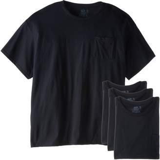 Fruit of the Loom Men's Big and Tall Size Pocket Tees