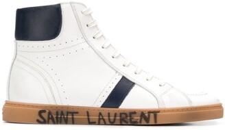 Saint Laurent Joe hi-tops