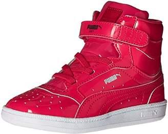 Puma Girls' Sky II HI Patent INF Sneaker