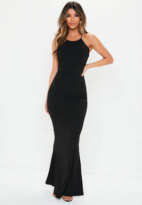 Missguided Cross Back Maxi Dress