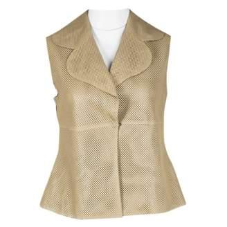 Akris Beige Leather Jackets