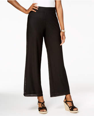 JM Collection Textured Pants