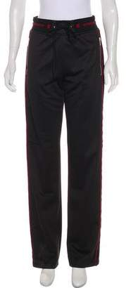 Givenchy High-Rise Wide-Leg Sweatpants w/ Tags