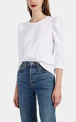 A.L.C. Women's Karli Puff-Sleeve Cotton T-Shirt - White