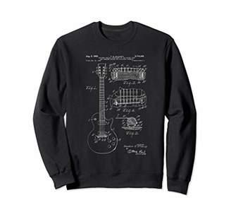 Classic Vintage Patent Print 1955 Rock Guitar Gift Sweatshirt