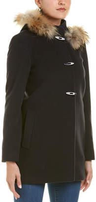 Cinzia Rocca Icons Wool & Cashmere-Blend Coat