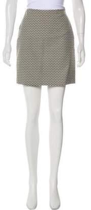 Michael Kors Geometric Pencil Skirt Tan Geometric Pencil Skirt