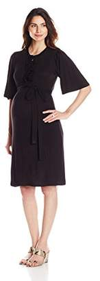 Everly Grey Women's Maternity Lindsey Dress