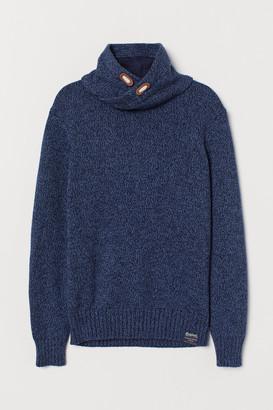 H&M Chimney-collar Sweater