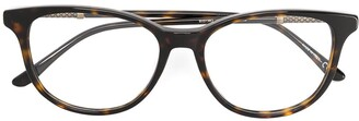 Bottega Veneta round framed glasses