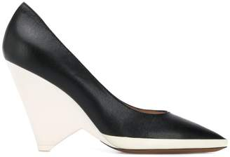 Givenchy two tone pumps