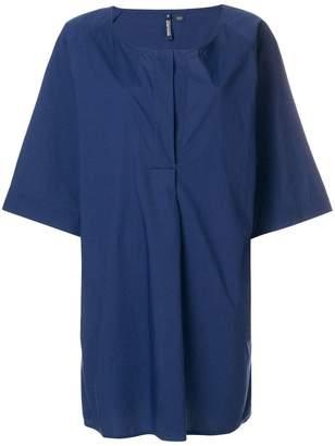 Woolrich long-line blouse