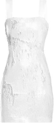GALVAN Salar sequin-embellished mini dress