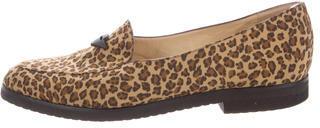 Bottega VenetaBottega Veneta Leopard Print Loafers