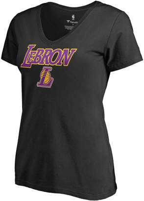 Nba Women's Los Angeles Lakers Lebron James Tee