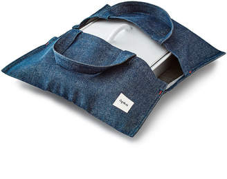 Aplat Wide Denim Casserole Tote