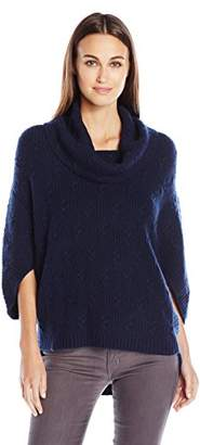 Design History Women's Cable Poncho