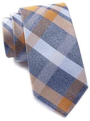 Ben Sherman Kirkwood Plaid Silk Tie