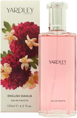 Yardley London Of London English Dahlia Eau De Toilette Spray for Women, 4.2 fl. Oz.