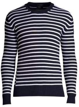 Blue White Striped Sweater Men Shopstyle