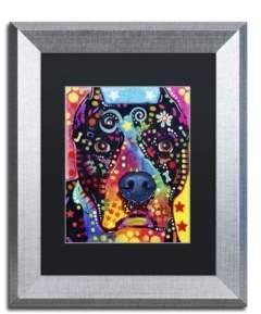 """Trademark Global Dean Russo 'Junior' Matted Framed Art - 14"""" x 11"""" x 0.5"""""""