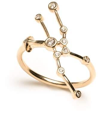 Lulu Frost Zodiacs 14k & Diamond Taurus + Earth Ring