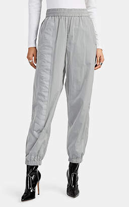Alexander Wang Women's Racer-Striped Jogger Pants - Gray