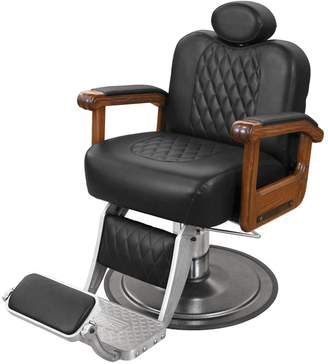 Equipment Collins Cavalier Barber Chair with Oak Arms