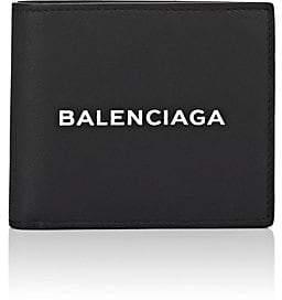 Balenciaga Men's Leather Billfold - Black