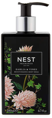 NEST Fragrances Dahlia & Vines Body Milk, 6.7 fl. oz. / 200ml