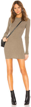 Enza Costa Cashmere Thermal Mini Dress