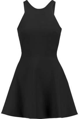 Elizabeth and James Britt Cutout Twill Mini Dress