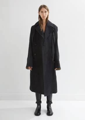 Ann Demeulemeester Norse Double Breasted Coat